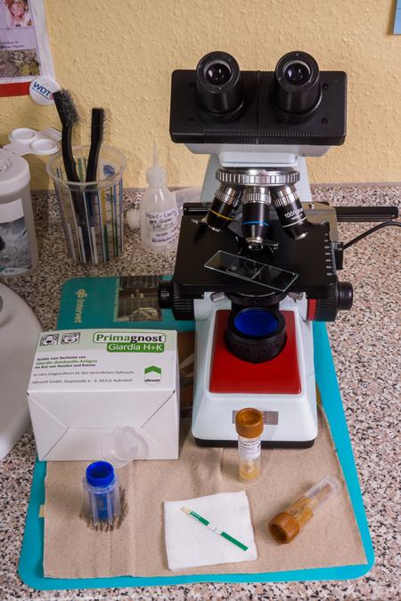 Laborausstattung
